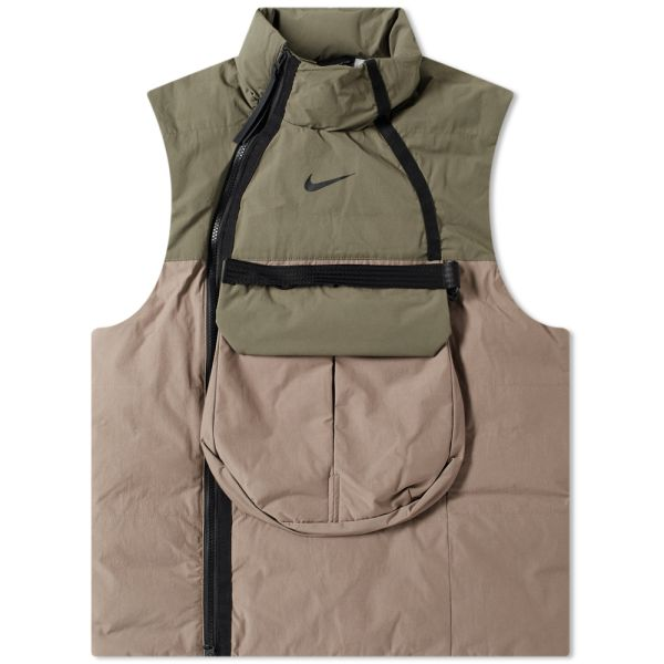 Nike Tech Pack Utility Vest Olive Grey Twilight Black End