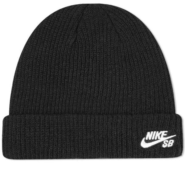 abolir Viaje Extremo  Nike SB Fisherman Beanie Black & White | END.