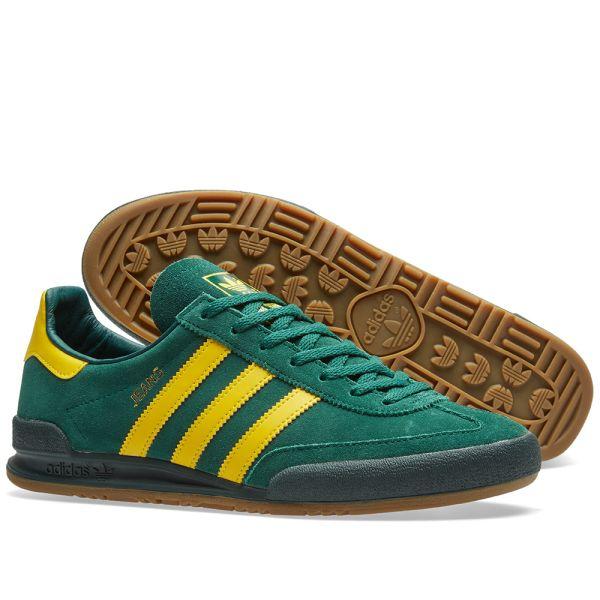 Adidas Jeans Collegiate Green \u0026 Yellow