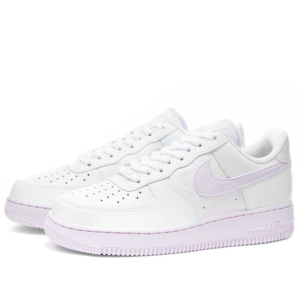 Nike Air Force 1 '07 SM W White & Barely Grape | END.