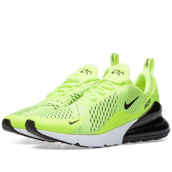 Nike Air Max 270 Premium GreyNeon Green