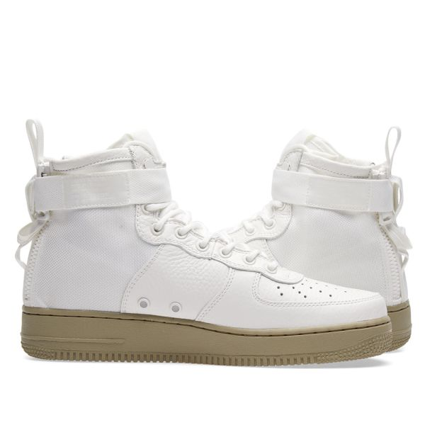 SF Air Force 1 Mid 'Olive Ivory'