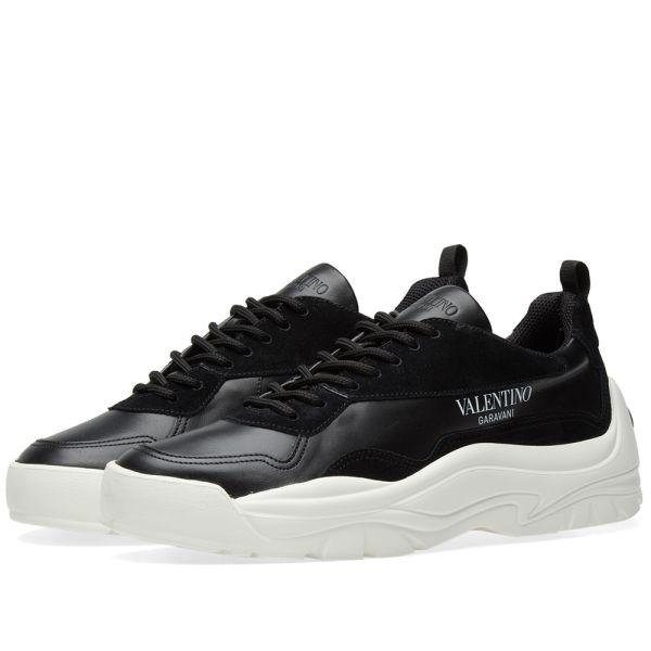 Valentino Bansi Chunky Sneaker Black   END.