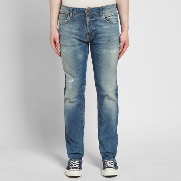 Nudie Jeans Thin Finn Authentic Repair – Feature