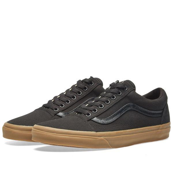 Vans Old Skool Black \u0026 Light Gum | END.