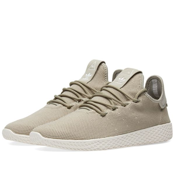 Adidas x Pharrell Williams Tennis Hu Tech Beige & Chalk