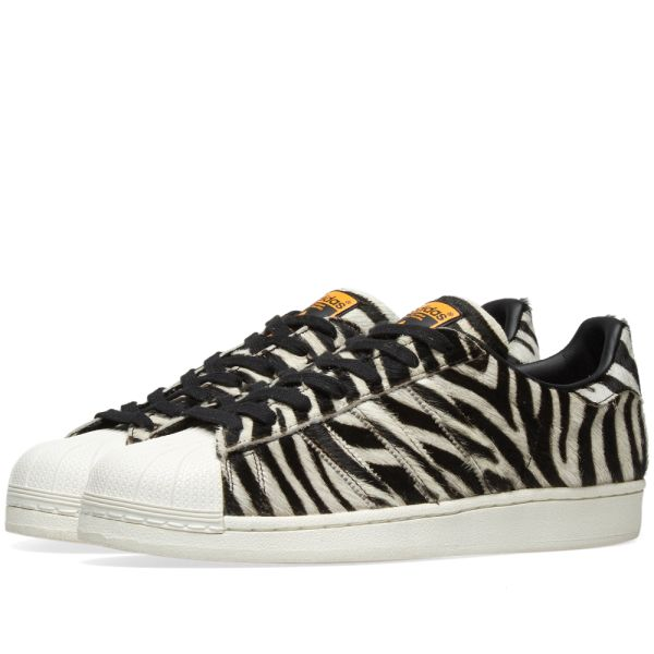 Durable Supported Adidas Superstar 80S Sport Animal Pack