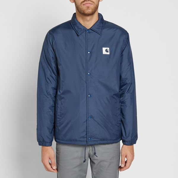 delicate colors authorized site official supplier Carhartt WIP Sports Pile Coach Jacket