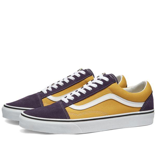 Vans UA Old Skool Honey Gold \u0026 Purple