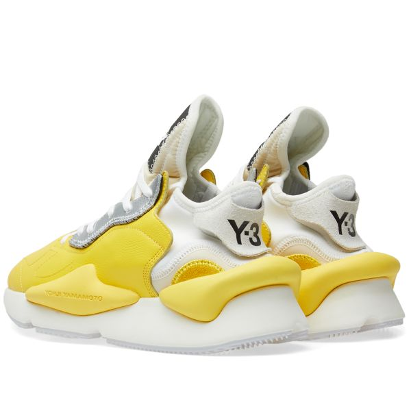Y-3 Kaiwa Yellow, White \u0026 Silver | END.