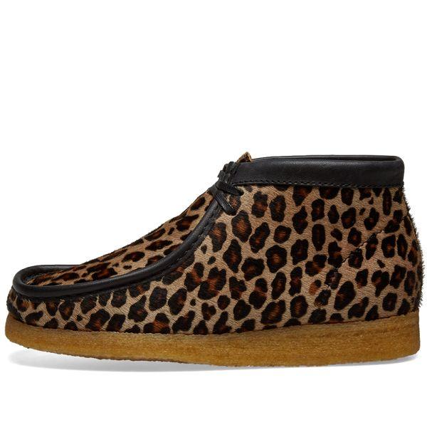 clarks leopard print flats