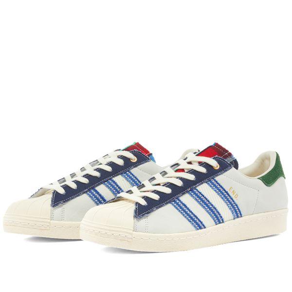 END. x Adidas Superstar 80s