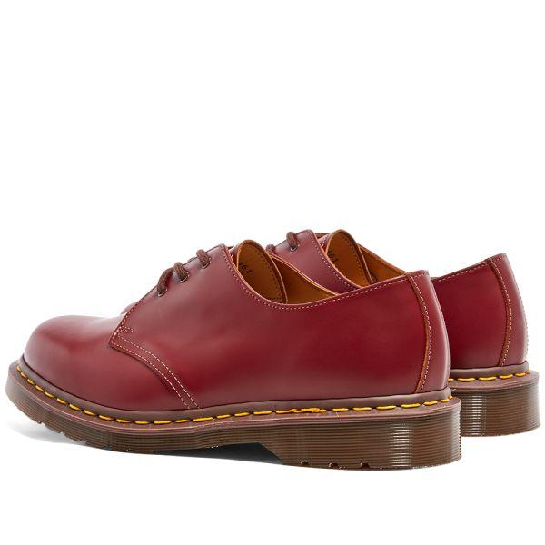Dr. Vintage Martens England Neu in made 7 40,5 Uk Eu Schwarz