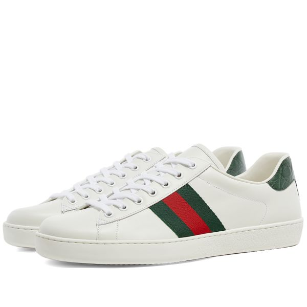 Gucci New Ace GRG Sneaker White | END.