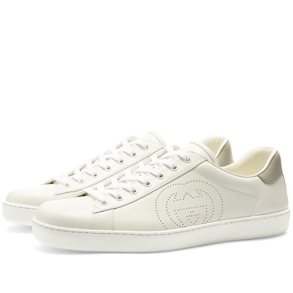 Gucci New Ace Perf GG Logo Sneaker
