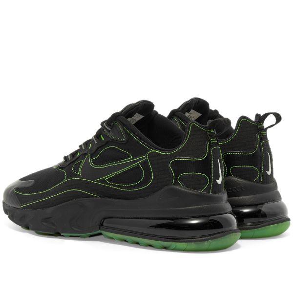 Nike Air Max 270 React Black \u0026 Electric