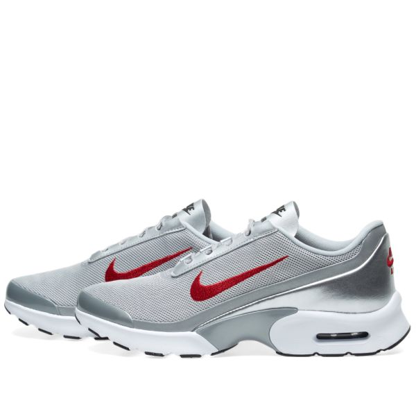 Estallar una vez Birmania  Nike W Air Max Jewell QS Metallic Silver & Varisty Red | END.