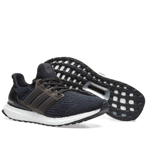 Adidas Ultra Boost 3.0 LTD Leather CageCore BlackWhite