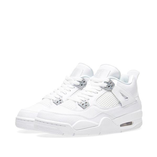 Nike Air Jordan IV Retro BG White