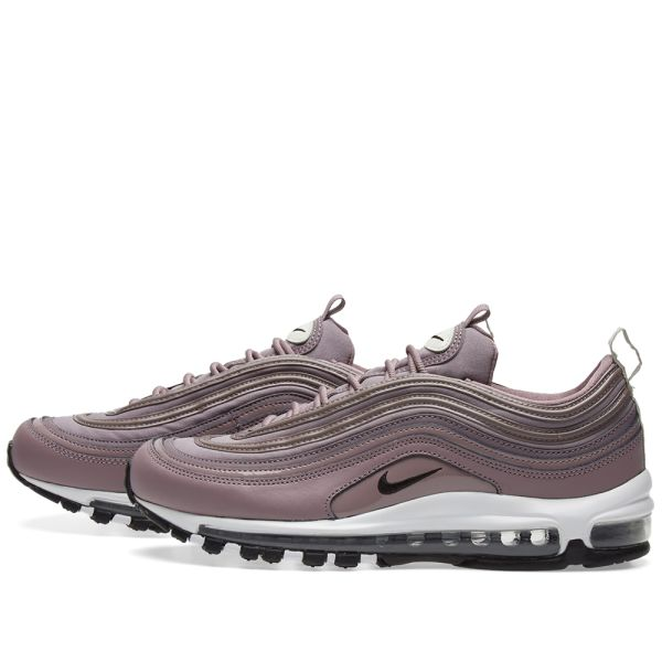 Women New Style Nike Air Max 97 Taupe Grey And Black Light