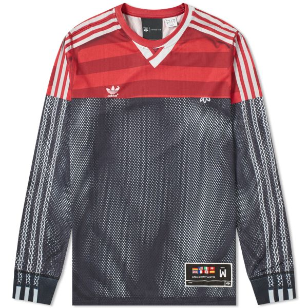 sports shoes promo codes new arrive Adidas Originals by Alexander Wang Long Sleeve Photocopy Tee