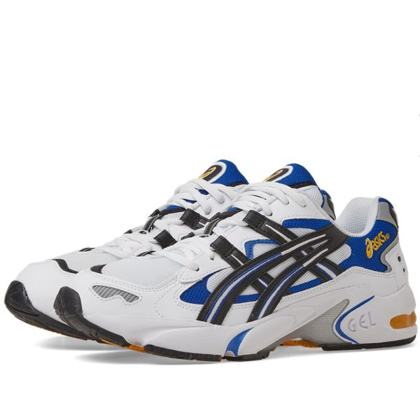 referens Vindpinad systemet  Asics Gel Kayano 5 OG White, Black & Blue | END.