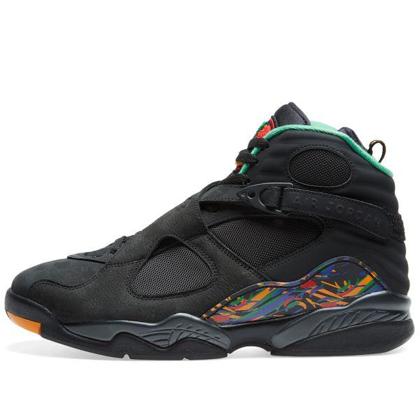 Air Jordan 8 Retro 'MJ X Tinker' Black
