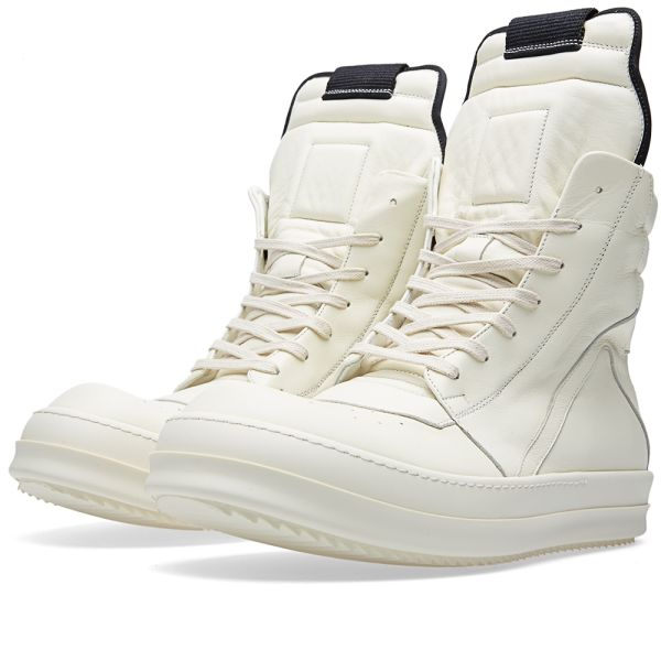 Rick Owens Geobasket Sneaker Milk | END.