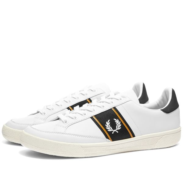 Fred Perry Authentic B3 Leather Taped