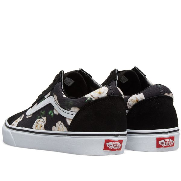 Vans UA Old Skool Romantic Floral Black & True White | END.