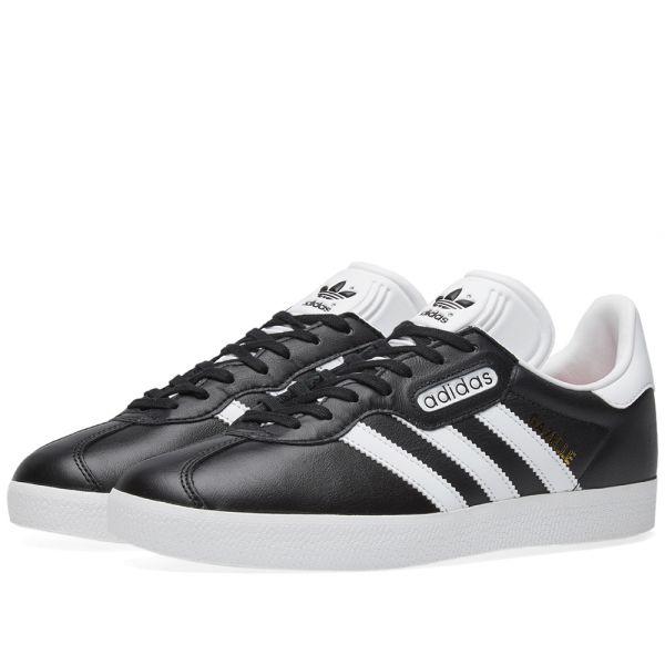 Grey Adidas Originals Gazelle Super Essential Shoes Womens