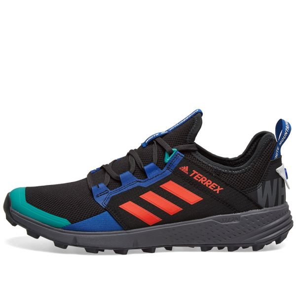 profesional Superficie lunar temor  Adidas x White Mountaineering Agravic Speed LD Core Black, Orange & Royal |  END.