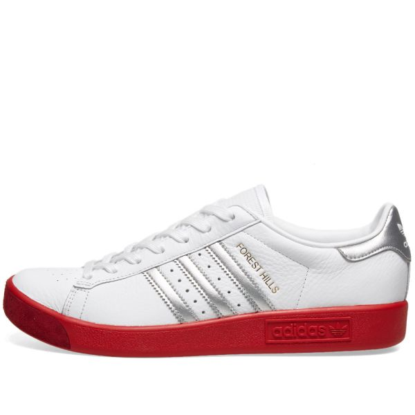 adidas Forest Hills White Silver