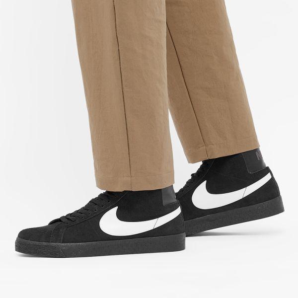 Nike SB Zoom Blazer Mid Black, White & Anthracite | END.