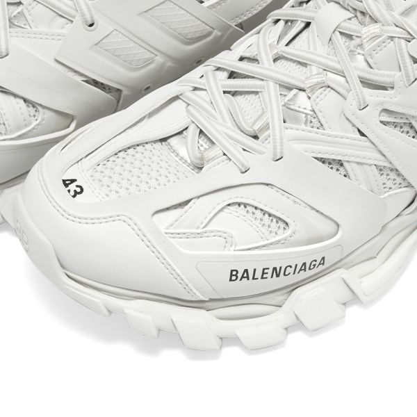 Balenciaga Pink Track Sneakers SSENSE