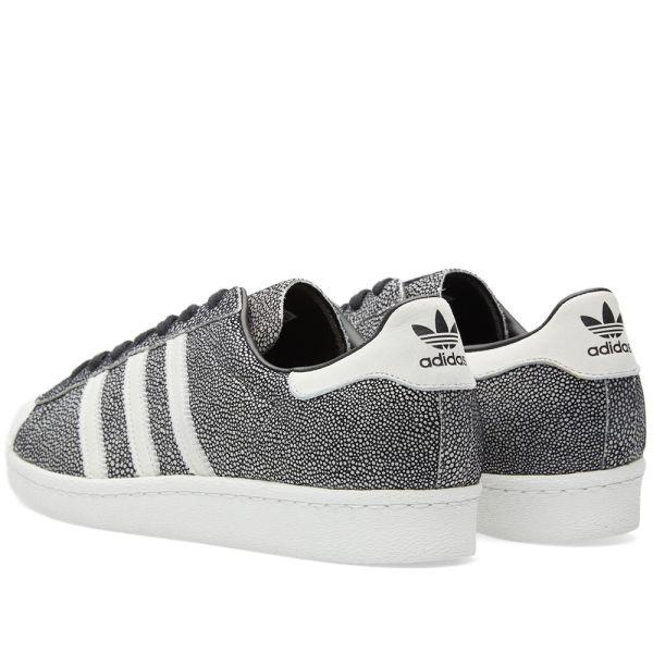 adidas Superstar Athletic Shoe Little Kid White Monochrome