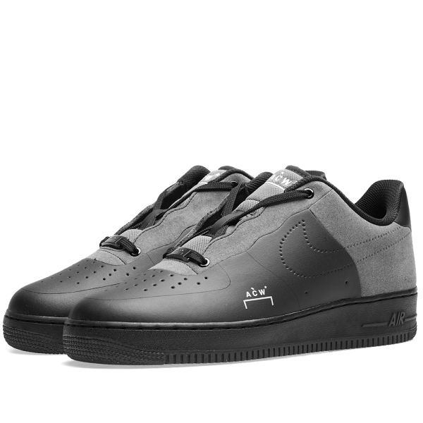 Nike x ACW Air Force 1 Black, White \u0026 Dark Grey | END.