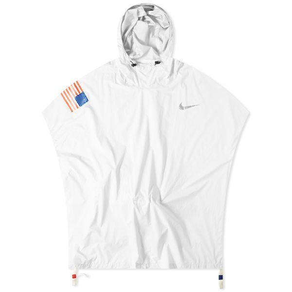 en venta en línea Excelente calidad famosa marca de diseñador Nike x Tom Sachs Poncho White   END.