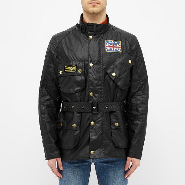 barbour union jack jacket