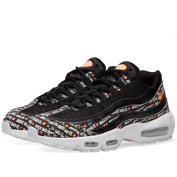 "2018 Nike Air Max 95 SE ""Just Do It"" in Black AV6246 001 To Buy"