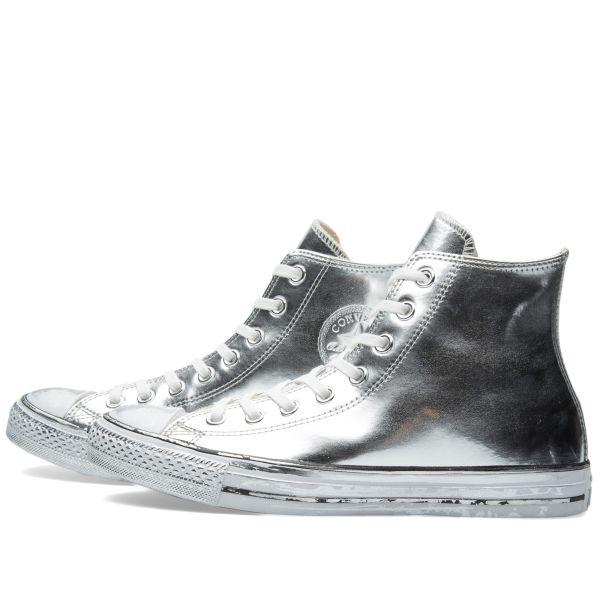 Converse Chuck Taylor Hi Chrome Leather