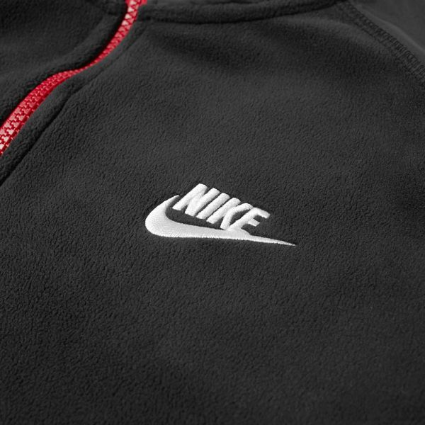 Nike Sportswear Top Half Zip Winter Jacket BlackOff Noir