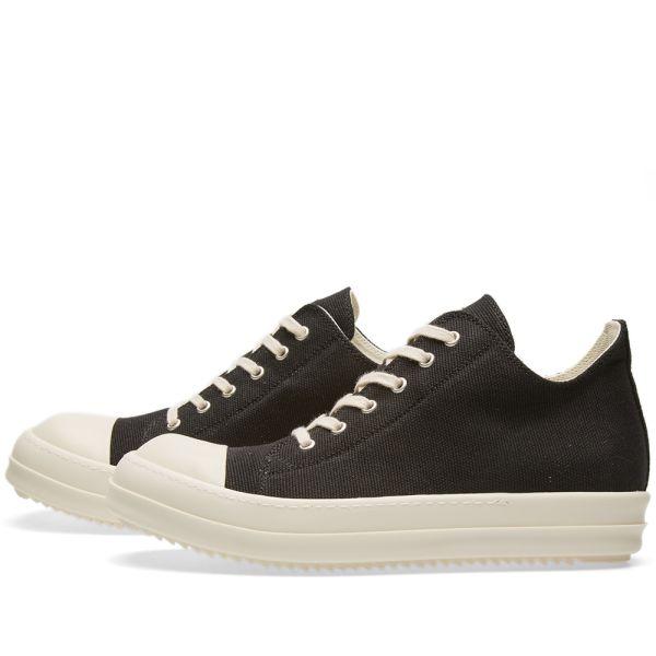 Rick Owens DRKSHDW Canvas Low Sneaker