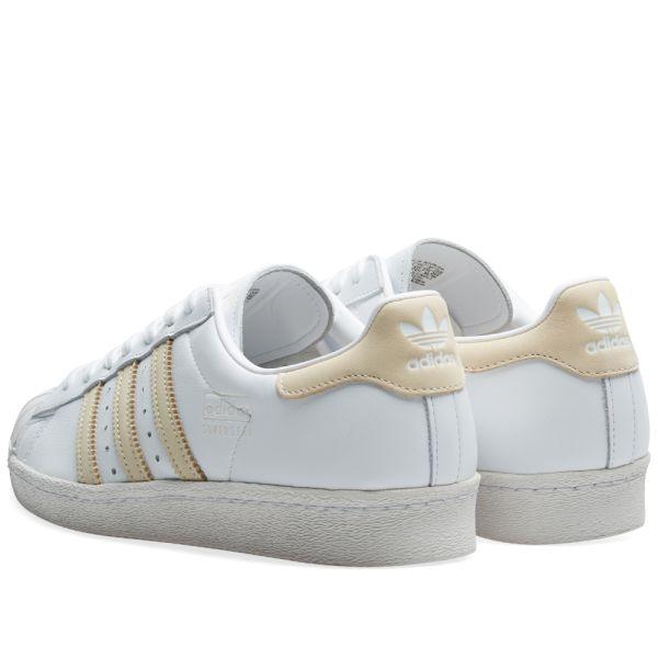 Adidas Superstar 80s White, Ecru Tint