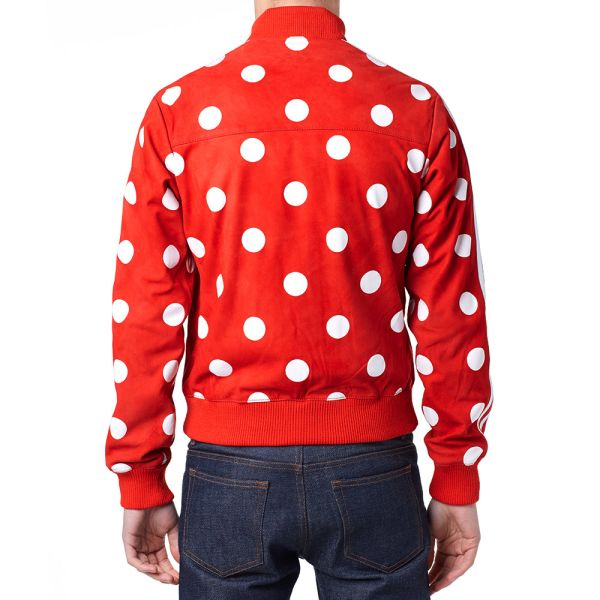 Adidas x Pharrell Big Polka Dot Leather Track Top