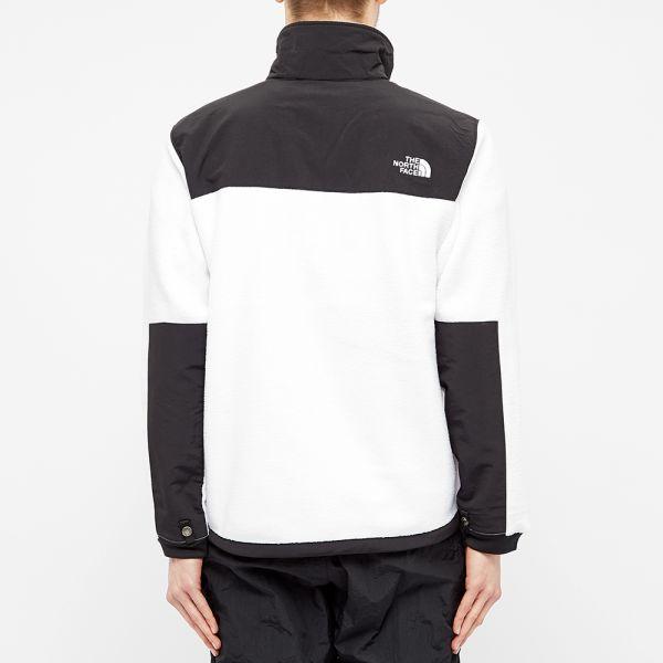 Adidas White Polyester Fleece Jacket