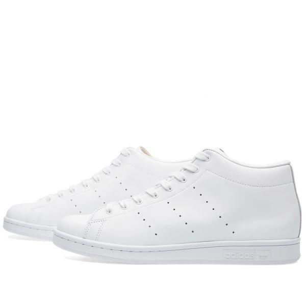 Adidas x Hyke Stan Smith Hi White | END.
