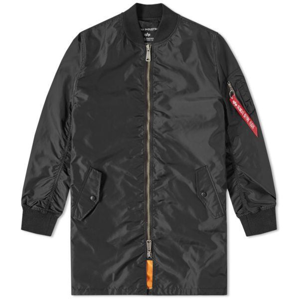 Alpha Industries MA 1 TT Long Bomber Jacket