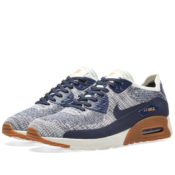 Nike W Air Max 90 Ultra 2.0 Flyknit Womens Shoes College