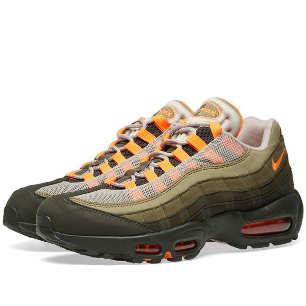 END. Features | Nike Air Max 95 OG 'Olive and Orange